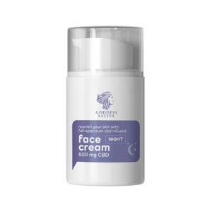 Cbd oil nourishing face cream
