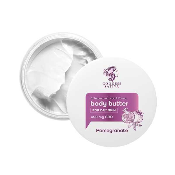 CBD Cream – Pomegranate Moisturizer