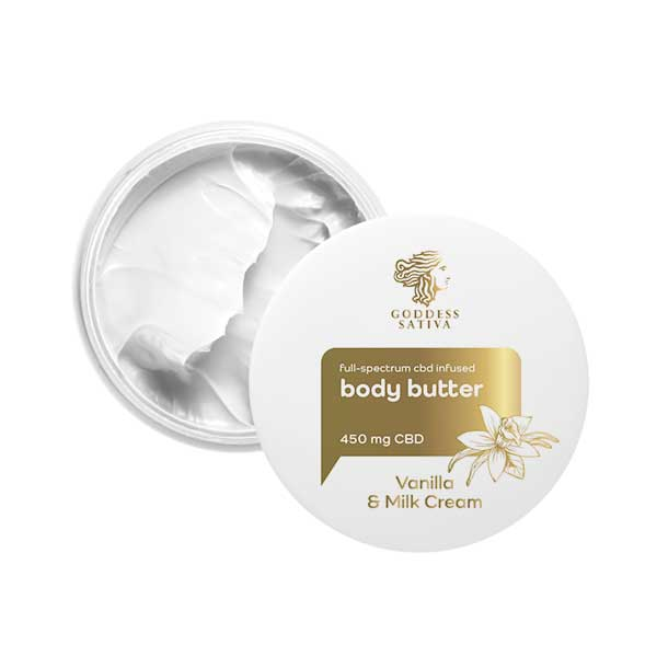Indulgent Body Butter Vanilla Mix CBD Cream